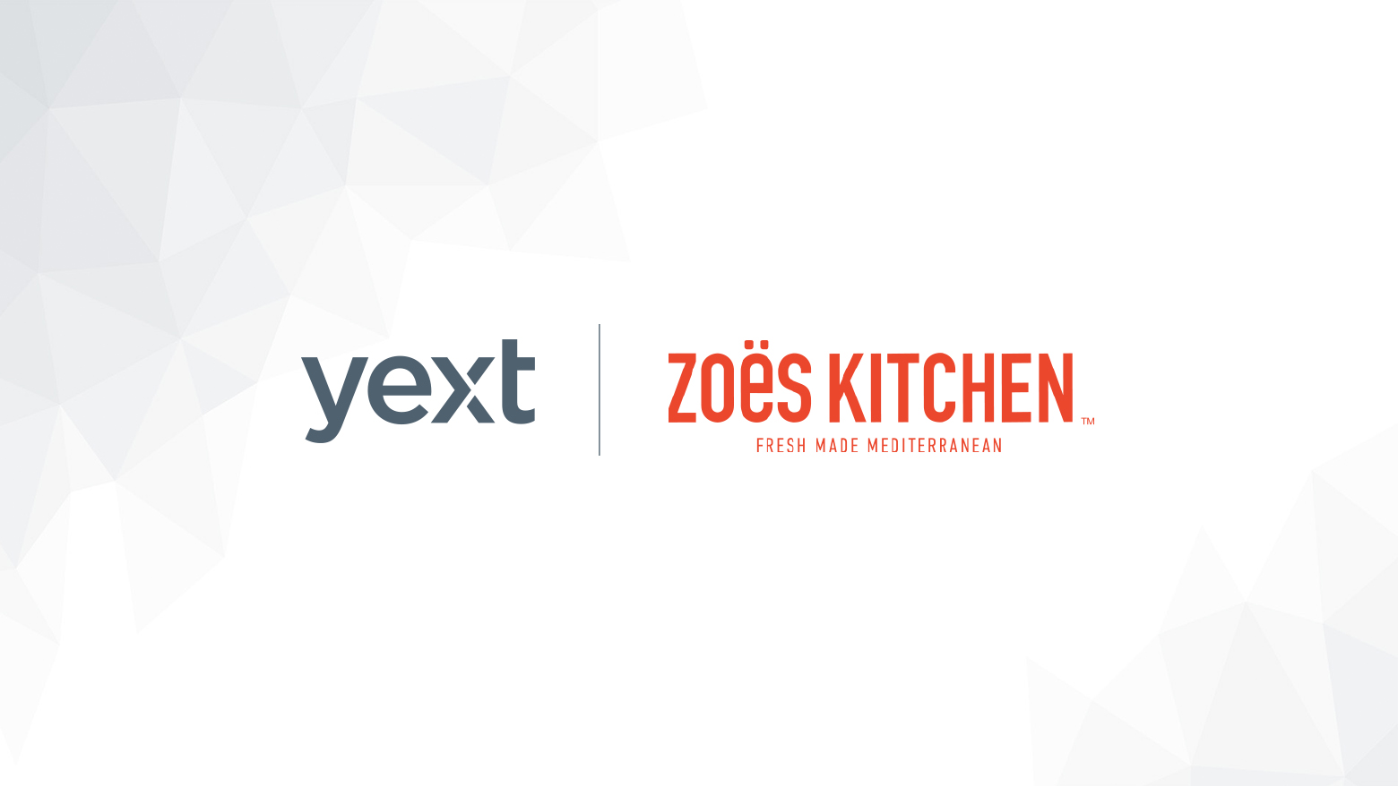 Yext And Zoes Kitchen Become Partners To Manage Digital